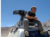 BBC Top Gear Bolivia Special - A camera operated from a top of a tracking vehicle, The Atacama Desert, Chile
