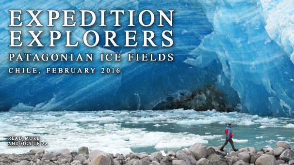 Expedition Explorers VIII - Glaciers of the Patagonian Ice Field and Istmo Ofqui, February 2016, Chile