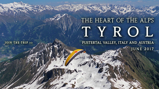 Tyrol - The Heart of The Alps - Paragliding trip to Pustertal Valley, June 2015