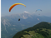 Kobaridski Stol - Paragliding above Kobaridski Stol range, Soca valley, Julian Alps, Slovenia - Slovenia 2012 - The Joy of XC - Paragliding Adventure Tour in The European Alps